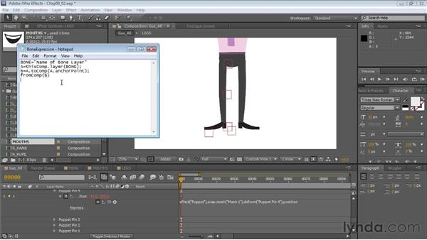 : Creating Animated Characters in After Effects