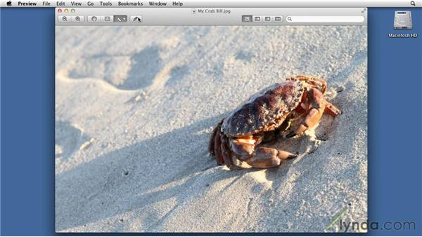Preview: Working with images: Mac OS X Lion Essential Training