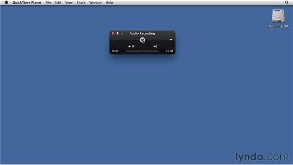 Recording: Mac OS X Lion Essential Training