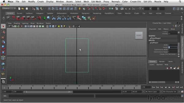 Importing reference sketches: Game Character Creation in Maya