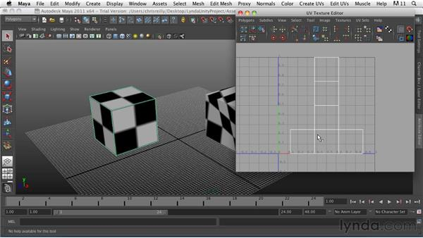 UV mapping overview: Game Character Creation in Maya