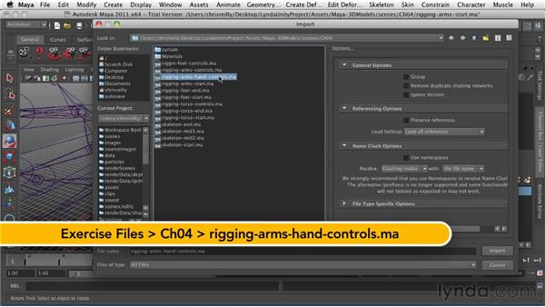 Rigging the arms and hands: Game Character Creation in Maya