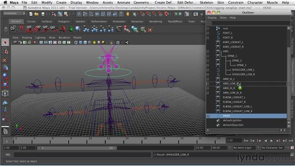 : Game Character Creation in Maya