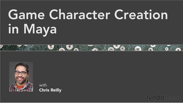 Additional resources: Game Character Creation in Maya