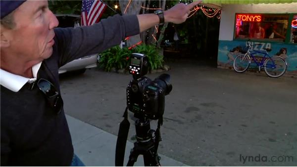 The shoot: part 4: Shooting with Wireless Flash: Outdoors at Twilight