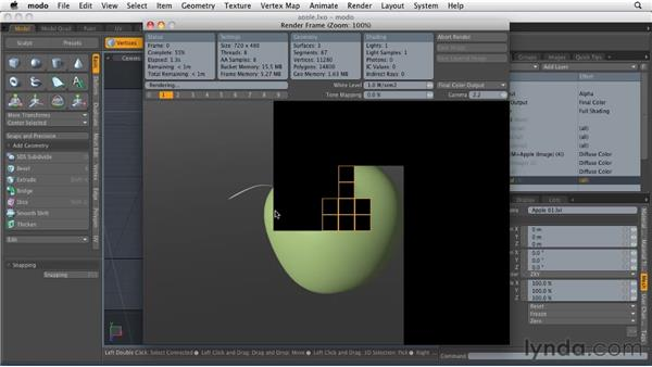 Exploring layer-based shading: MODO 501 Essential Training