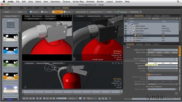 Editing surfaces: MODO 501 Essential Training