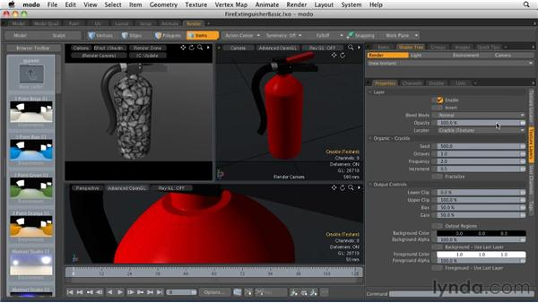 Applying procedural textures: MODO 501 Essential Training