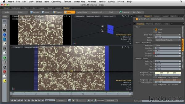 Animating nontraditional elements: MODO 501 Essential Training