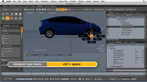 Building a channel-based animation: MODO 501 Essential Training