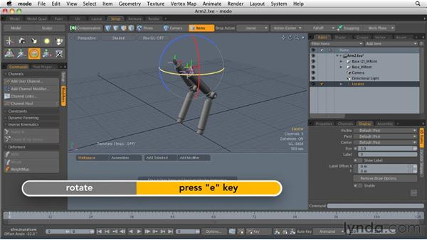 Adding the finishing touches on schematic rigs: MODO 501 Essential Training