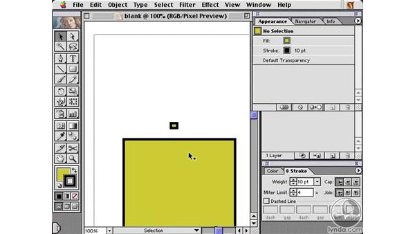 snap to pixel: Learning Illustrator 10