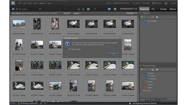 Using the exercise files: Up and Running with Photoshop Elements 10