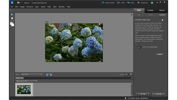Guided Edit basics: Up and Running with Photoshop Elements 10
