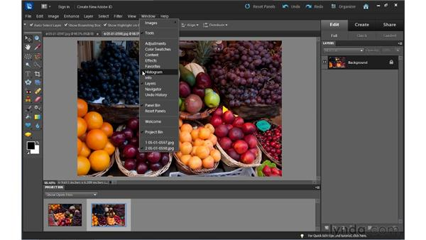 The Full Photo Edit interface: Up and Running with Photoshop Elements 10
