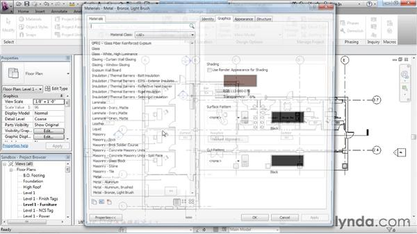 Sharing materials: Revit Architecture: The Family Editor
