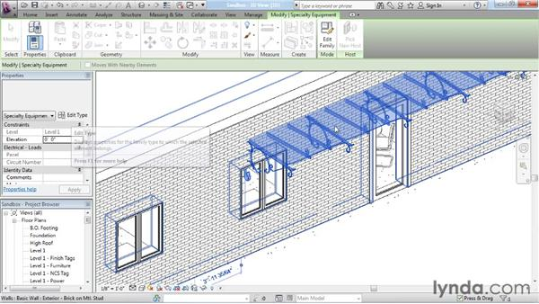 Loading a model family: Revit Architecture: The Family Editor