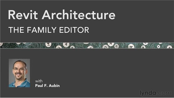 Goodbye: Revit Architecture: The Family Editor