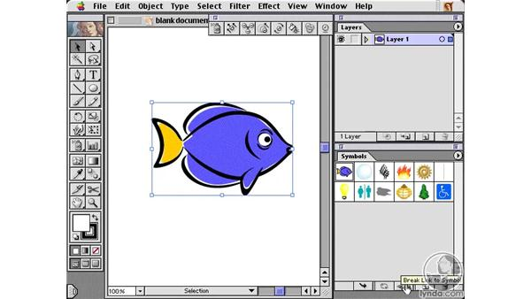 symbol introduction: Learning Illustrator 10