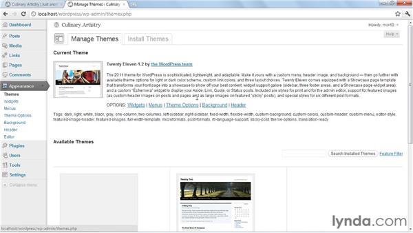 Creating a child theme: Create an Online Portfolio with WordPress