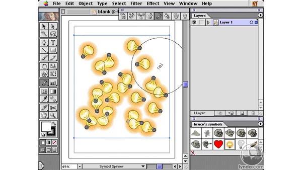symbol spinner: Learning Illustrator 10