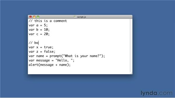 Adding comments to code for human understanding: Foundations of Programming: Fundamentals