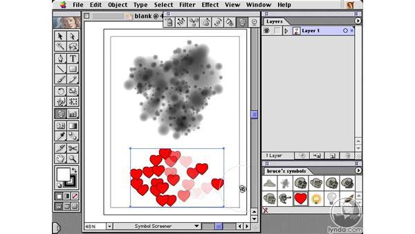 symbol screener: Learning Illustrator 10