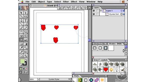 symbol styler: Learning Illustrator 10