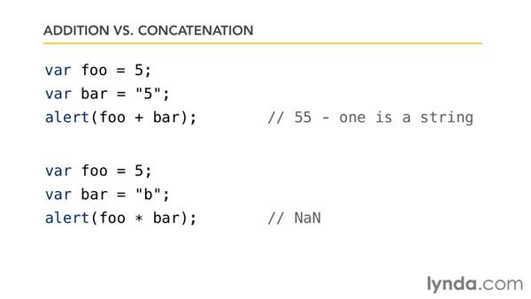 Cleaning up with string concatenation: Foundations of Programming: Fundamentals