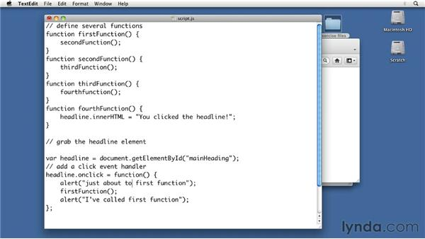 Tracing through a section of code: Foundations of Programming: Fundamentals