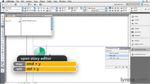 005 Magically building graphs with the Chartwell font: InDesign Secrets