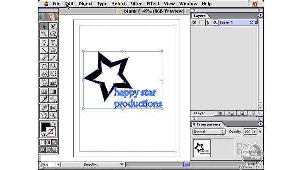 photoshop shapes: Learning Illustrator 10