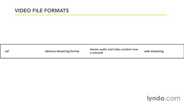 Working with video formats: PowerPoint 2007: Audio and Video in Depth