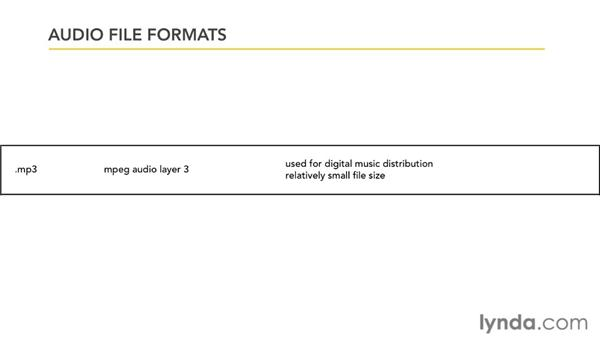 Working with audio file formats: PowerPoint 2007: Audio and Video in Depth