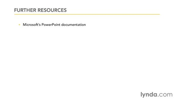 Goodbye: PowerPoint 2007: Audio and Video in Depth