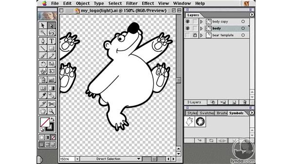 more alterations: Learning Illustrator 10