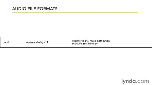 Working with audio file formats: PowerPoint 2010: Audio and Video in Depth
