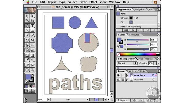 pen introduction part 2: Learning Illustrator 10