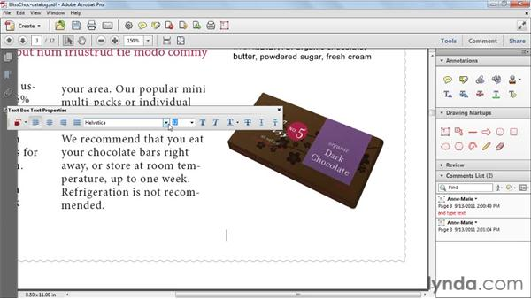 Adding text with the Text Box tool: Acrobat X Tips and Tricks