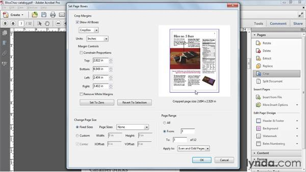Increasing page size: Acrobat X Tips and Tricks