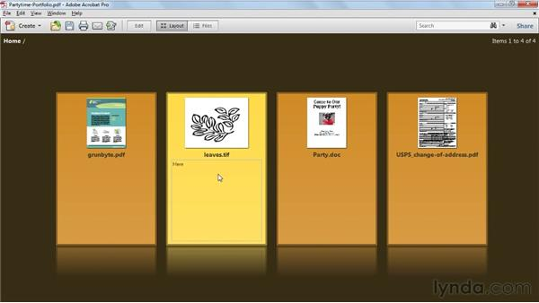 Editing Acrobat 9 portfolios in Acrobat X: Acrobat X Tips and Tricks