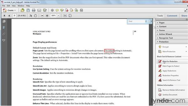 Highlighting all found text in your PDF: Acrobat X Tips and Tricks