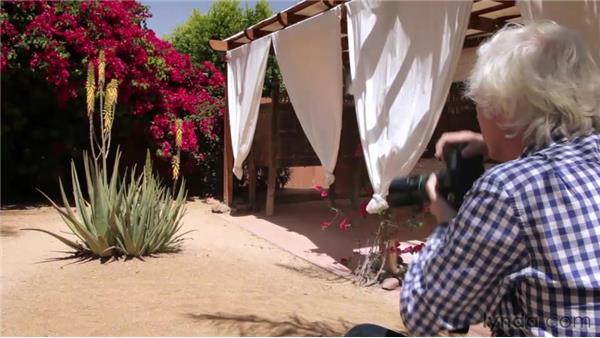 Composing an outdoor image: Douglas Kirkland on Photography: A Photographer's Eye