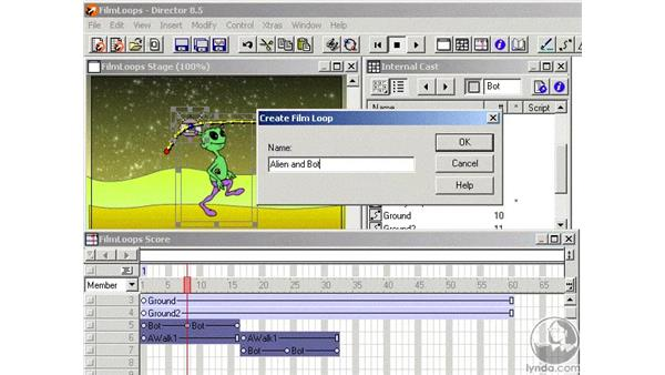 film loops part 3: Learning Director 8.5