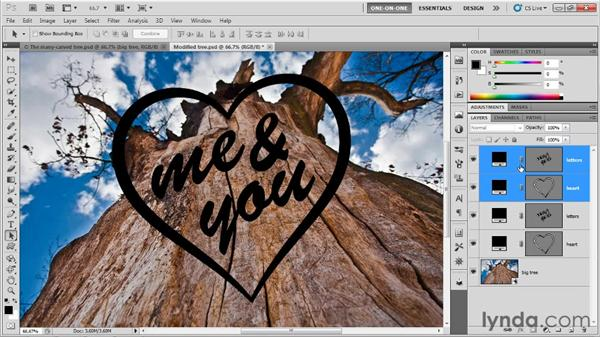 Reconciling multiple vector constraints: Photoshop CS5 Extended One-on-One: 3D Type Effects