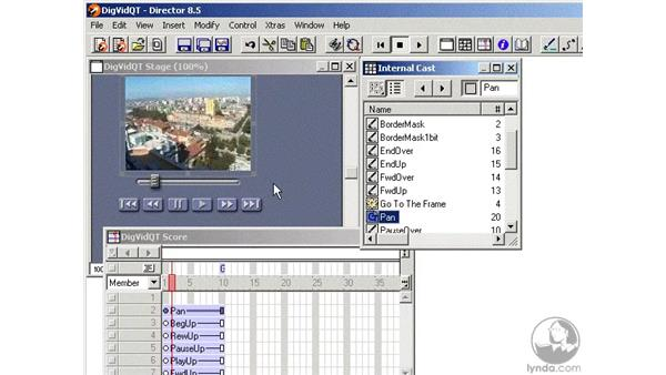 quicktime files part 2: Learning Director 8.5