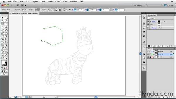 Plotting points vs. drawing paths: Illustrator Insider Training: Drawing without the Pen Tool