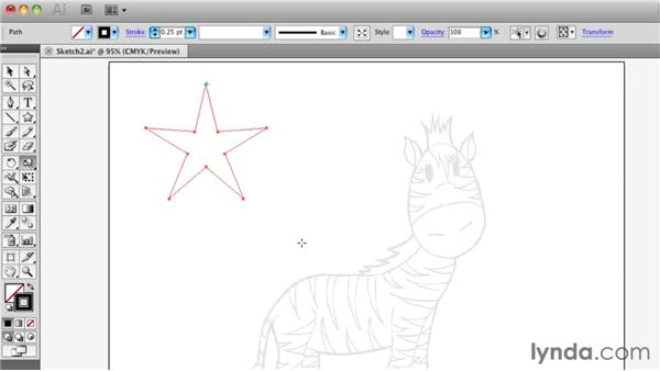 Mastering the transform tools: Illustrator Insider Training: Drawing without the Pen Tool