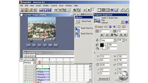 quicktime files part 4: Learning Director 8.5