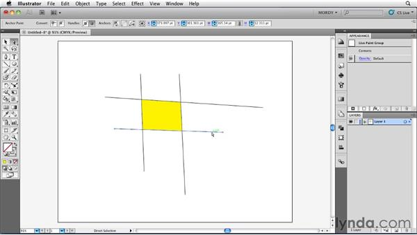 Understanding how Live Paint works: Illustrator Insider Training: Drawing without the Pen Tool